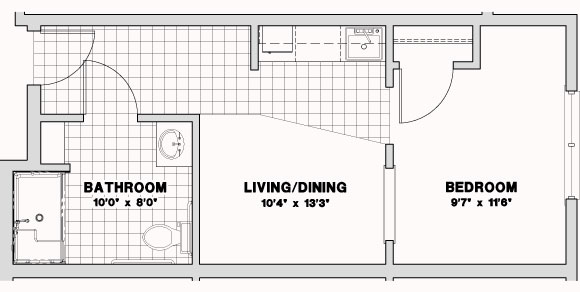 Respite floor plans and prices for Efficiency floor plans